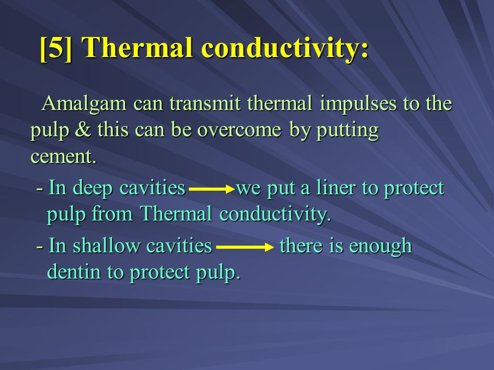 [5] Thermal conductivity: